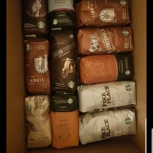 Starbucks coffee and tea bundle